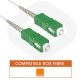 Cable fibre optique pour livebox orange