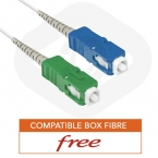 Cable fibre optique pour freebox free