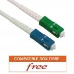 Cable fibre optique renforce haute qualité free